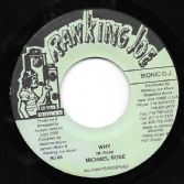 SALE ITEM - General Riddim - Michael Rose - Why / Version (Ranking Joe) US 7""